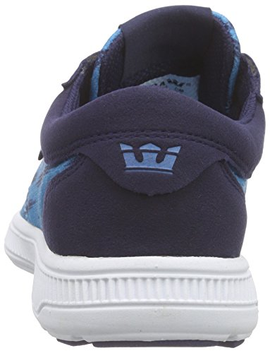 Supra Hammer Neb Adulte Sneakers White Blue Neon Navy Basses Run Bleu Mixte rrwdgqP
