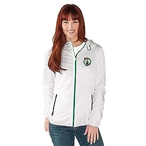 GIII For Her Womens Spring Training Light Weight Full Zip Jacket NMY30485 BCT, Womens, Spring Training Light Weight Full Zip Jacket, NMY30485 BCT, White, XX-Large