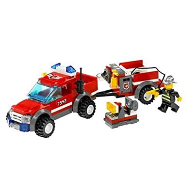 LEGO City Off Road Fire Rescue (7942): Toys & Games