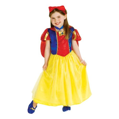 Modern Day Princess Costumes (Rubie's Child's Enchanted Princess Costume, Small)