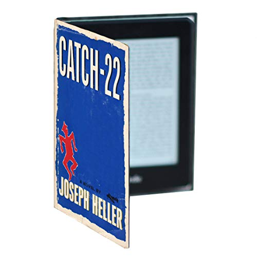 Kindle Case with Universal Classic Book Cover (Compatible with New Paperwhite 2018 10th Gen) (Catch 22)