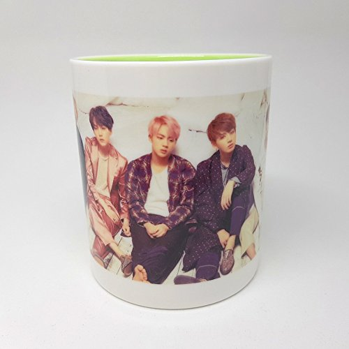 BTS Bangtan Boys WINGS Mug Cup Ceramic (Childrens Clothes Pillow Case Dress)