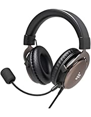 Tronsmart Gaming Headset Adjustable Headband, with Detachable Mic Volume Control,Surround Stereo Gaming Headset with Soft Memory Earmuffs for PC/PS4/Xbox One/Switch and mobile devices