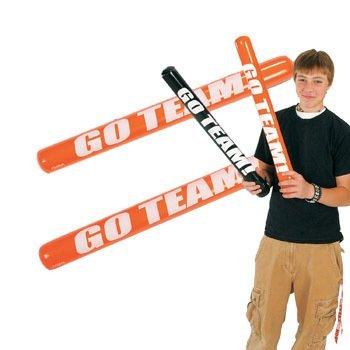 Inflatable Go Team Noisemaker Sticks - 2