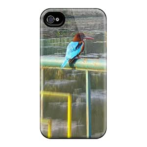 Cute Tpu MichelleNCrawford King Fisher Case Cover For Iphone 4/4s