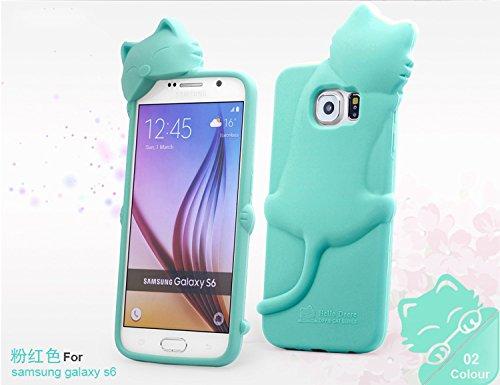 Amazon com: [Bear Life] for Samsung Galaxy S6 Case, 3D Cute Cartoon