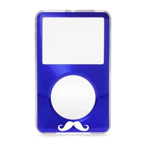 Blue Apple iPod Classic Mustache Hard Case with Aluminum ...
