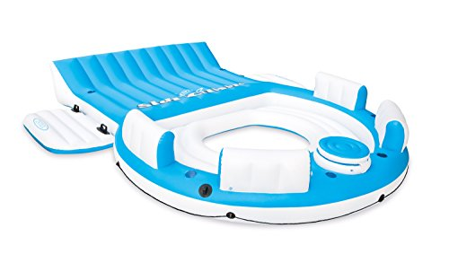 Intex Relaxation Island Inflatable Swimming Pool Lounge Float - (Island Float)