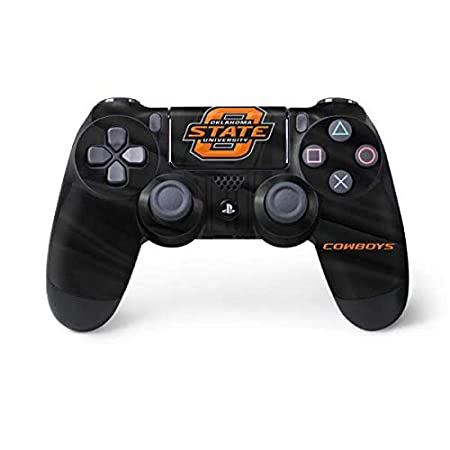 Amazon.com: Skinit Oklahoma State Jersey PS4 Controller Skin - Officially Licensed College Gaming Decal - Ultra Thin, Lightweight Vinyl Decal Protection: ...