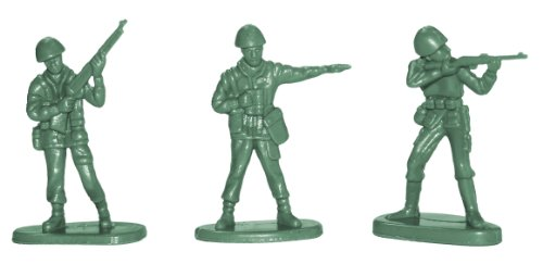 Mini Green Toy Soldiers Us Army Men Play War Kids Toys