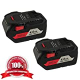 2Pack 4000mAh 18V R840087 Replacement Battery for RIDGID 18-Volts Lithium batteries AC840087P Drill R840083 R840086 AC840085 R840083 R840084 AC840085