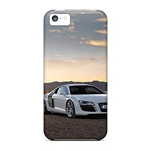 AnnaDubois Iphone 5c Great Cell-phone Hard Covers Allow Personal Design Beautiful Audi R8 Series [kDG20319PxMX]