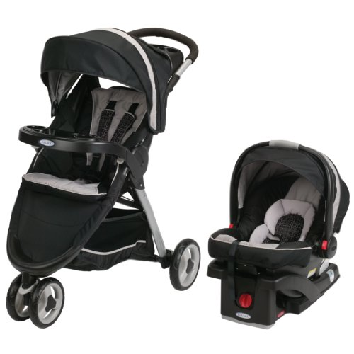 2014 Graco FastAction Fold Sport Stroller Click Connect Travel System, ()