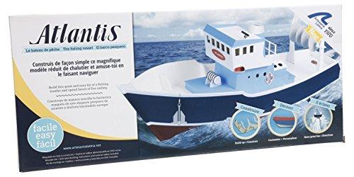 Artesania Latina 30531–Atlantic Fishing Trawler Build and Type Water Vehicles