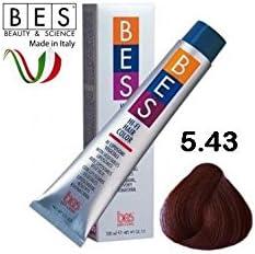 BES, Hi-Fi Color 100 ml 5.43 Castaño Ch. Cobre dorado