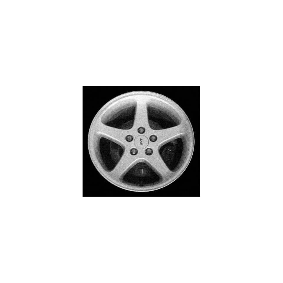 03 FORD MUSTANG ALLOY WHEEL RIM 17 INCH, Diameter 17, Width 9 (5 SPOKE), BRIGHT SILVER, 1 Piece Only, Remanufactured (2003 03) ALY03476U20