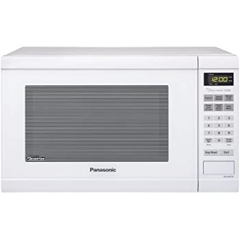 Panasonic NN-SN651W White 1200W 1.2 Cu. Ft. Countertop Microwave Oven with Inverter Technology