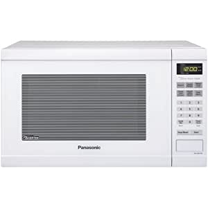 Panasonic NN-SN651W 1200W Color blanco - Microondas (1200 W, Tocar, Color blanco, 34,3 cm, 1480 W, 525,5 mm)