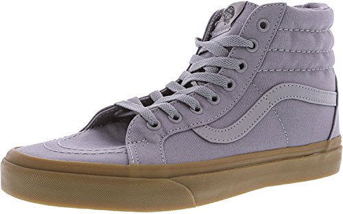 Vans Unisex Sk8-Hi Reissue (Canvas Gum) Frstygy/Lgtgum Skate Shoe 9 Men US/10.5 Women US