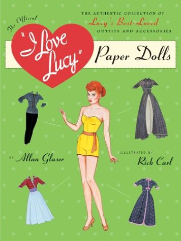007 Costumes Accessories - I Love Lucy Paper
