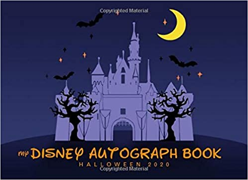 Halloween 2020 Autographed Poster My Disney Autograph Book Halloween 2020: The Perfect Kids