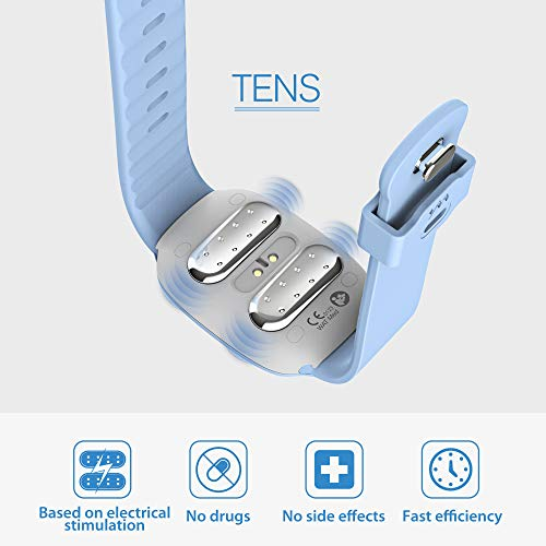 New EmeTerm for Motion Sickness and Morning Sickness (New Blue with New Strap)