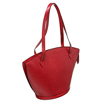 5ccf78a1935e Louis Vuitton Pre-Owned Red Epi Leather St Jacques GM Shoulder Bag   Amazon.co.uk  Luggage