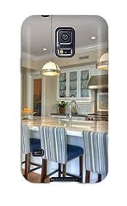 For Galaxy S5 Protector Case Port Bristol Bright White Kitchen Phone Cover