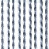 Ticking 45 Wide 100% Cotton 60x60 30yd Bolt-Navy Stripe