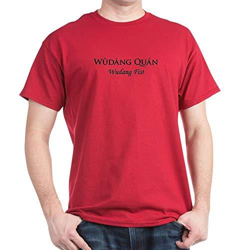 CafePress Wudang Quan Black 100% Cotton T-Shirt