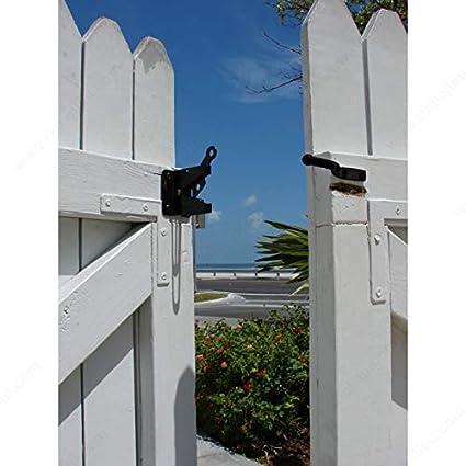 Pestillo de puerta de bloqueo autom�tico autom�tico para valla de madera puerta