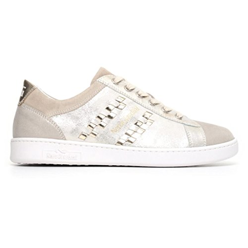 Beige P805090D Giardini Beige in Pelle 2018 Primavera Donna Sneakers Estate Scarpe Nero Savana X7OwRwq