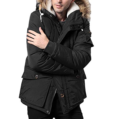 Amazon.com: for Coat,AIMTOPPY Mens Casual Solid Color Long ...