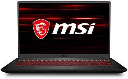 """MSI GF75 Thin Gaming Laptop, 17.3"""" FHD 144Hz IPS Screen,Intel Core i5-10300H Processor Up to 4.50 GHz, NVIDIA GTX 1650Ti Graphics, 8GB RAM,512GB PCIe SSD, Win10 Home+2weeks SkyCare Support WeeklyReviewer"""