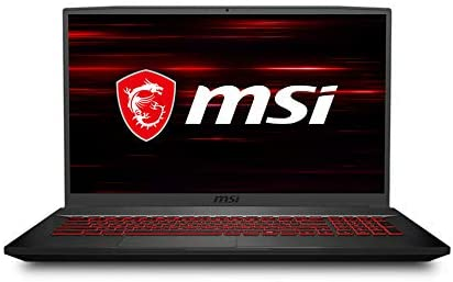 "MSI GF75 Thin Gaming Laptop, 17.3"" FHD 144Hz IPS Screen,Intel Core i5-10300H Processor Up to 4.50 GHz, NVIDIA GTX 1650Ti Graphics, 8GB RAM,512GB PCIe SSD, Win10 Home+2weeks SkyCare Support"