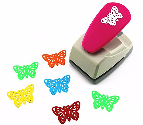 Since 33cm butterfly punches limited edition large craft punches decorative hole punch very beautiful puncher,Ramdom Color ()