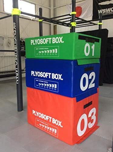 プライオメトリック ボックス Plyometric BOX クロスフィット とび箱 体操マット ウレタンブロック ステップ台 crossfit ジャンプ台 体操補助台