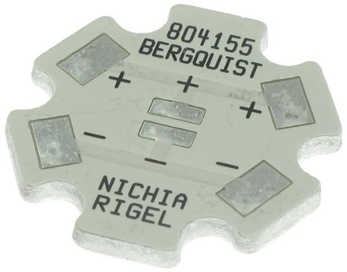 Thermal Substrates - MCPCB 1-UP INDV STAR NICHIA RIGEL 3.5X3.5 (50 pieces)