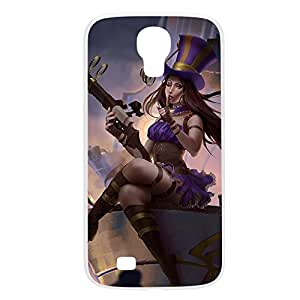 Caitlyn-005 League of Legends LoL Iphone 5/5S Plastic White