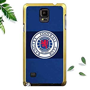 Customized Smart Phone Funda Case Rangers F.C. Attractive Funda Case Para Samsung Galaxy Note 4