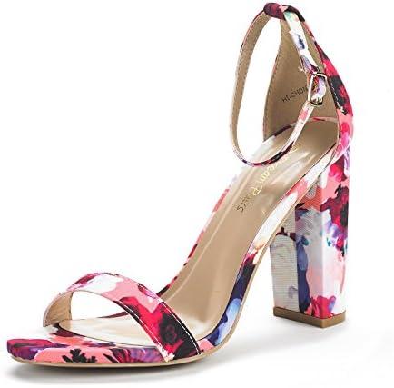 DREAM PAIRS Womens Hi Chunk Sandals product image