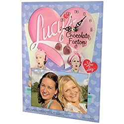 Lucy & Ethel Chocolate Factory Picture Frame Clock