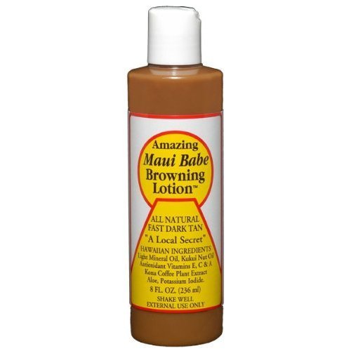 Maui Babe - Browning Lotion - 8oz, 12 pack by Maui Babe