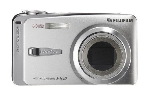 Fujifilm FinePix F650 6.0 MP Digital Camera with 5x Optical