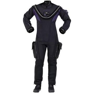 Aqua Lung Fusion Fit traje seco, Negro: Amazon.es: Deportes ...
