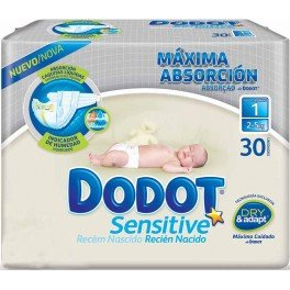 Pañales dodot sensitive talla 0