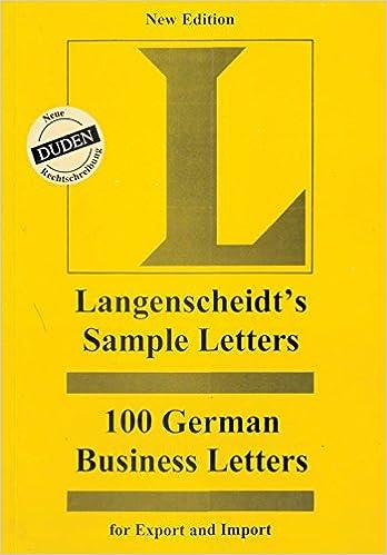 german business letter - Isken kaptanband co
