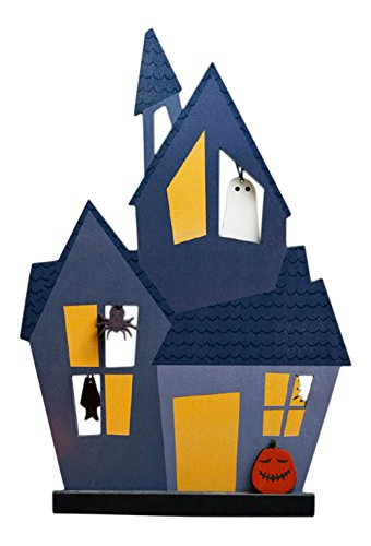 Design Ideas Salem™ Haunted House Halloween Decoration with Accessories (5 Pieces) (Haunted House Prop Ideas)