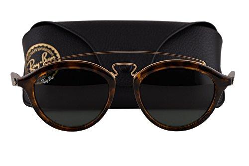 Ray Ban RB4257 Small Sunglasses Havana w/Dark Green Lens 71071 RB 4257