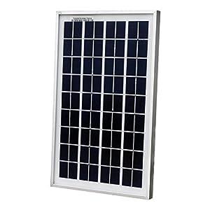 ECO-WORTHY 10W Solar Panel 10 Watt 12 Volt Pv Solar Module,Solar Cell Panel